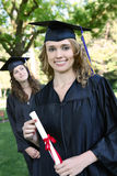 Pretty Graduation Woman Royalty Free Stock Image