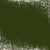 Pretty Green Swirl Background Stock Photo