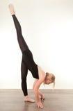 Pretty gymnast Royalty Free Stock Photos
