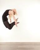 Pretty gymnast Royalty Free Stock Photography