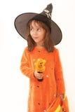 Pretty Halloween Witch Stock Photos