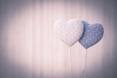 Pretty Hearts Stock Images