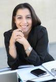 Pretty Hispanic Business Woman Stock Images