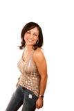Pretty Hispanic Woman Royalty Free Stock Images