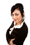 Pretty Hispanic Woman Royalty Free Stock Photos