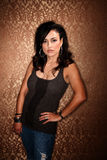 Pretty Hispanic Woman Stock Image