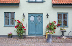 Pretty home entrance Stock Images