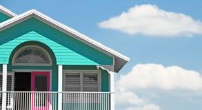 Pretty house under pretty sky Royalty Free Stock Photo