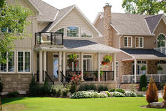 Pretty houses Royalty Free Stock Image