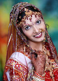 Pretty Indian Bride. Stock Photos