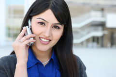 Pretty Indian Business Woman Royalty Free Stock Image