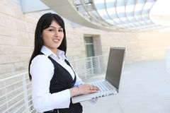 Pretty Indian Business Woman Stock Photography