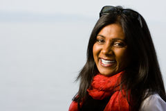 Pretty indian girl smiling Royalty Free Stock Photo