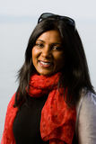 Pretty indian girl smiling Stock Photography