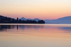Pretty islands daybreak,Greece Stock Images