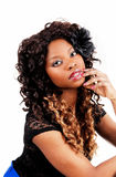 Pretty Jamaican girl. Royalty Free Stock Photography