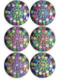 Pretty jewel circle web and design element Stock Photos