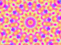 Pretty kaleidoscope Royalty Free Stock Photography
