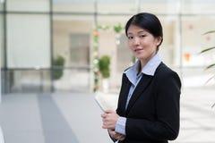 Pretty Korean business lady Royalty Free Stock Photos