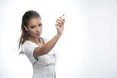 Pretty lady doctor Royalty Free Stock Photography