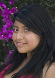 Pretty Latin Girl Stock Image