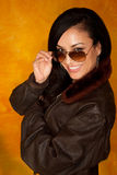 Pretty Latina Woman Royalty Free Stock Images