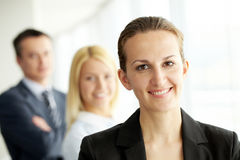 Pretty leader Royalty Free Stock Photography