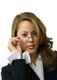 Pretty Librarian stock photography