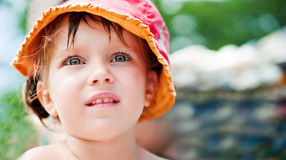 Pretty liitle girl Royalty Free Stock Photo