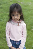 Pretty little Asian girl posing. Stock Photography
