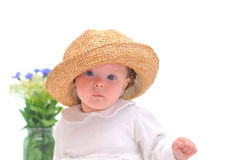 Pretty little baby Stock Photos