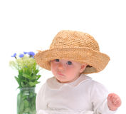 Pretty little baby Royalty Free Stock Images