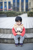 Pretty little Chinese girl Stock Images