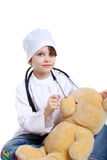 Pretty little doctor Stock Photography