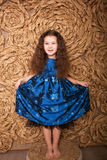 Pretty little fashion girl posing Royalty Free Stock Images