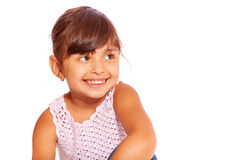 Pretty little girl Royalty Free Stock Photography