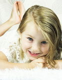 Pretty Little Girl stock photos