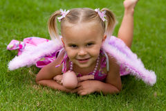 Pretty Little Girl Stock Photos
