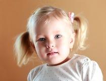 Pretty little girl Royalty Free Stock Photos