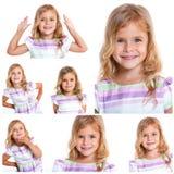 Pretty little girl Royalty Free Stock Photo