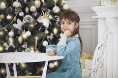 Pretty little girl royalty free stock image