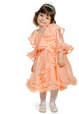 Pretty the little girl full body portrait Stock Photos
