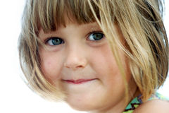 Pretty little girl royalty free stock photos