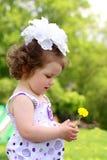 Pretty little girl Stock Photo