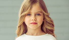 Pretty little girl Stock Image