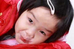 Pretty little girl's face Royalty Free Stock Photos