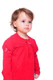 Pretty little girl smiling Royalty Free Stock Photos