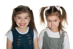 Pretty little girls Stock Image
