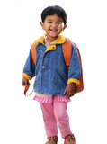 Pretty little indian pre school girl(child) Royalty Free Stock Photography