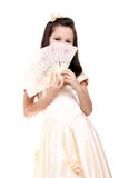 Pretty little lady Royalty Free Stock Photography